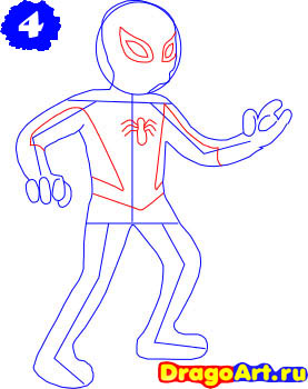 how_to_draw_spider_man_step_4