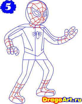 how_to_draw_spider_man_step_5